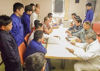 Ship Administration Department | Services | Taiheiyo Kisen Kaisha, Ltd